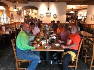 Group Dinner at Olive Garden - 09/10/17