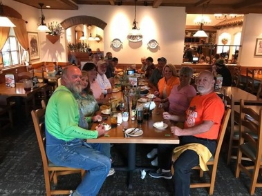 Group Dinner at Olive Garden - 09/10/17