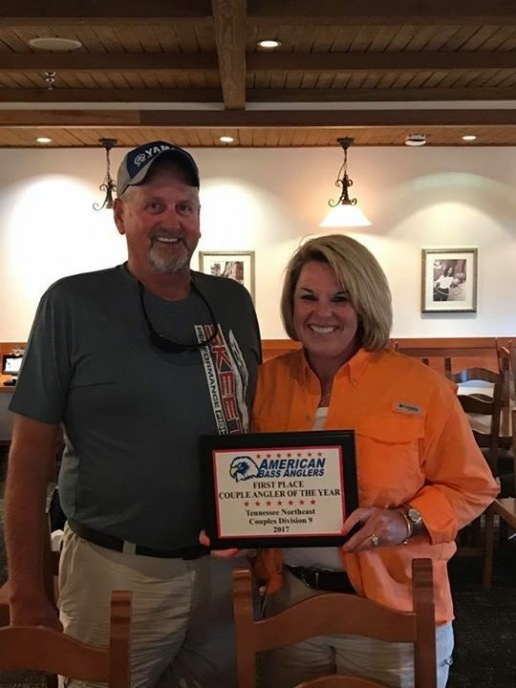2017 Couple Angler of the Year